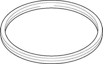Прокладка приймальної труби на MAZDA TRIBUTE ELRING 224.970.