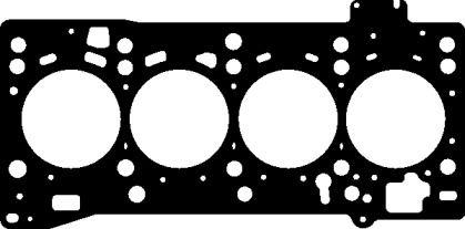 Прокладка ГБЦ на SKODA OCTAVIA A7 'ELRING 334.270'.