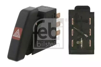 Кнопка аварійки 'FEBI 01515'.