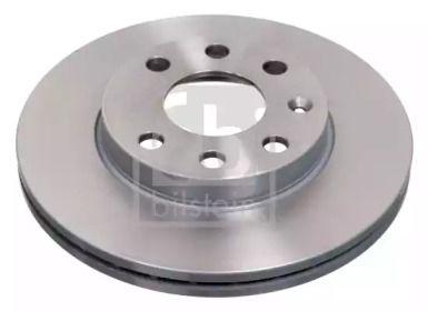 Вентилируемый передний тормозной диск на Опель Тигра 'FEBI 02806'.