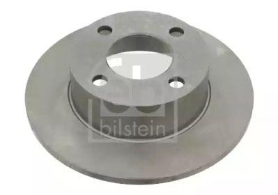 Задний тормозной диск на Ауди 90 'FEBI 02908'.