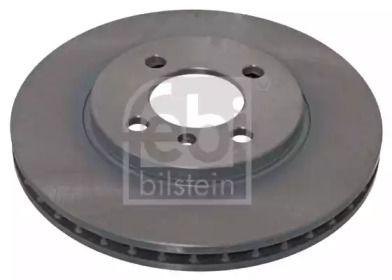 Вентилируемый передний тормозной диск на БМВ 3 'FEBI 04059'.
