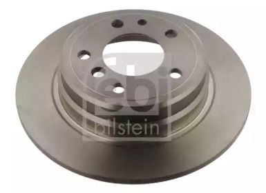 Задний тормозной диск на BMW 5 'FEBI 04176'.
