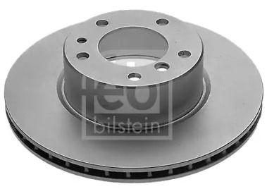 Вентилируемый передний тормозной диск на BMW 7 'FEBI 04438'.