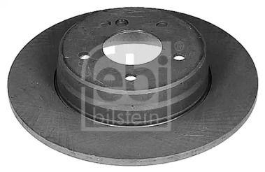 Задний тормозной диск на Мерседес СЛК 'FEBI 04628'.