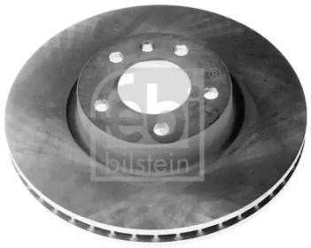 Вентилируемый передний тормозной диск на Опель Сенатор 'FEBI 04848'.