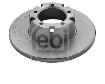 Передний тормозной диск на Мерседес Т2 'FEBI 04876'.