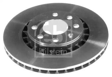 Вентилируемый передний тормозной диск на DAEWOO ESPERO 'FEBI 05179'.