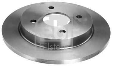 Задний тормозной диск на Форд Скорпио 'FEBI 05652'.