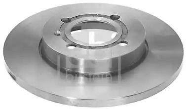Передний тормозной диск на SEAT INCA 'FEBI 06310'.