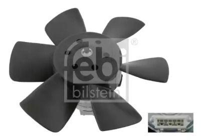 Вентилятор охлаждения радиатора на Фольксваген Джетта 'FEBI 06990'.