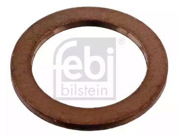 Уплотнительное кольцо, резьбовая пробка маслосливн. отверст. на Сеат Толедо 'FEBI 07215'.