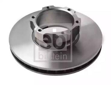 Вентилируемый передний тормозной диск на MERCEDES-BENZ T2 'FEBI 07508'.