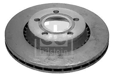 Вентилируемый передний тормозной диск на AUDI QUATTRO 'FEBI 08359'.