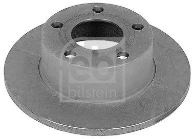 Задний тормозной диск на Ауди Кватро 'FEBI 09076'.