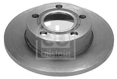 Задний тормозной диск на Ауди 200 'FEBI 09077'.