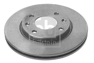 Вентилируемый передний тормозной диск на CITROEN AX 'FEBI 10316'.
