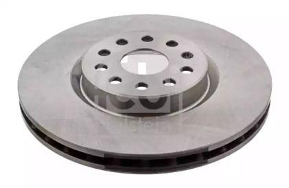 Вентилируемый передний тормозной диск на Лянча Каппа FEBI 14165.