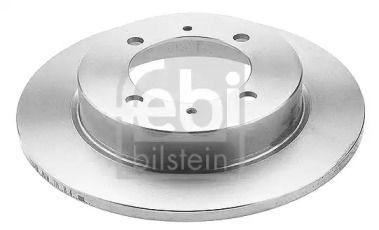 Задний тормозной диск на VOLVO V40 'FEBI 14925'.