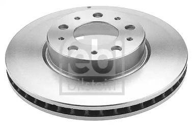 Вентилируемый передний тормозной диск на VOLVO 940 'FEBI 15089'.