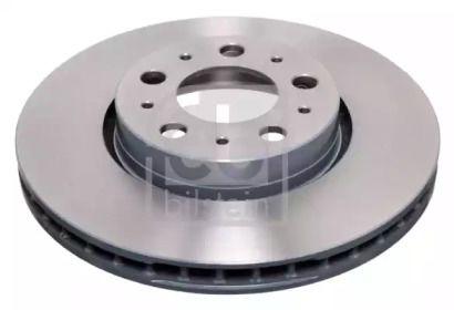 Вентилируемый передний тормозной диск на Вольво С60 'FEBI 18044'.