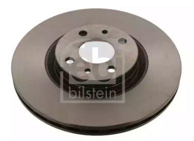Вентилируемый передний тормозной диск на FIAT COUPE 'FEBI 18546'.