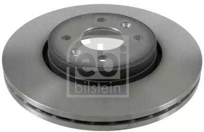 Вентилируемый передний тормозной диск на Рено Гранд Сценик 'FEBI 19923'.