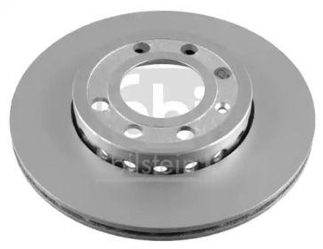 Вентилируемый передний тормозной диск на VOLKSWAGEN LUPO 'FEBI 21580'.