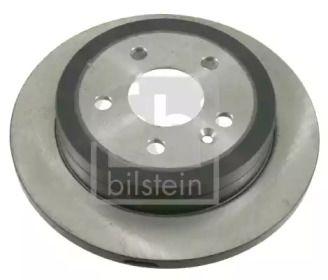 Задний тормозной диск на MERCEDES-BENZ M-CLASS 'FEBI 21923'.