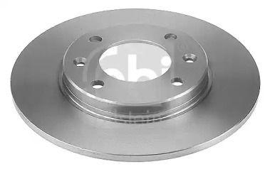 Задний тормозной диск на CITROEN C2 'FEBI 21966'.