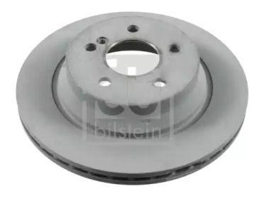 Вентилируемый задний тормозной диск на MERCEDES-BENZ GLK 'FEBI 22162'.