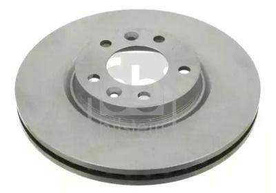 Вентилируемый передний тормозной диск на Пежо 605 'FEBI 22921'.