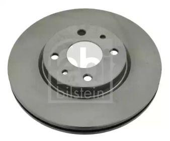 Вентилируемый передний тормозной диск на FIAT QUBO 'FEBI 22927'.