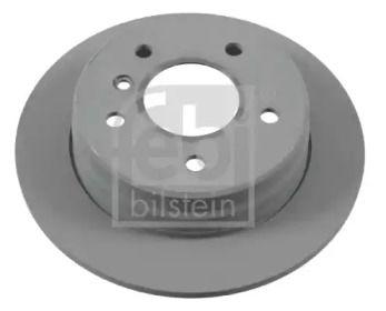 Задний тормозной диск на Мерседес Ванео 'FEBI 22931'.
