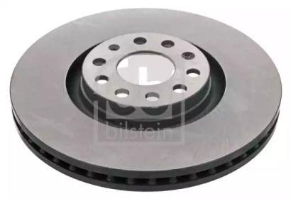 Вентилируемый передний тормозной диск на Ауди Олроуд 'FEBI 22950'.