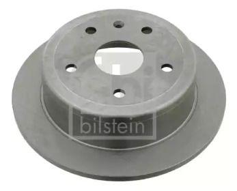 Задний тормозной диск на DAEWOO LEGANZA 'FEBI 23540'.