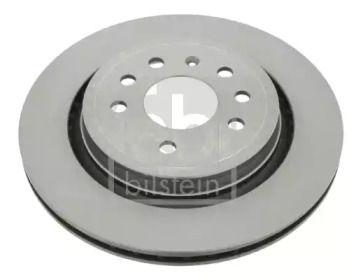 Вентилируемый задний тормозной диск на Сааб 9-3 'FEBI 23545'.