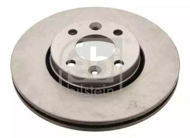 Вентилируемый передний тормозной диск на NISSAN NOTE 'FEBI 24165'.