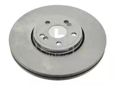 Вентилируемый передний тормозной диск на RENAULT VEL SATIS 'FEBI 24311'.