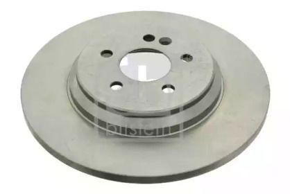 Задний тормозной диск на Мерседес М класс FEBI 24350.