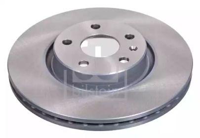 Вентилируемый передний тормозной диск на Фольксваген Артеон 'FEBI 24384'.