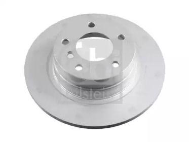 Вентилируемый задний тормозной диск на BMW 2 'FEBI 24471'.
