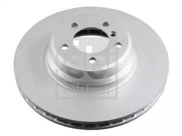 Вентилируемый задний тормозной диск на BMW X1 'FEBI 24475'.