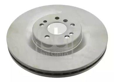 Вентилируемый передний тормозной диск на Мерседес ГЛ класс 'FEBI 24745'.