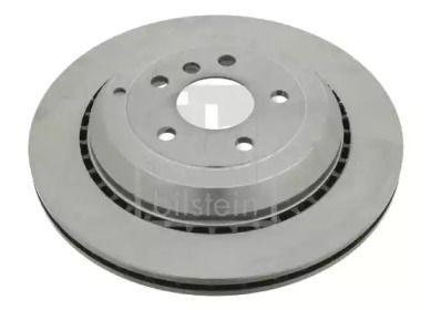 Вентилируемый задний тормозной диск на MERCEDES-BENZ GL-CLASS 'FEBI 24748'.