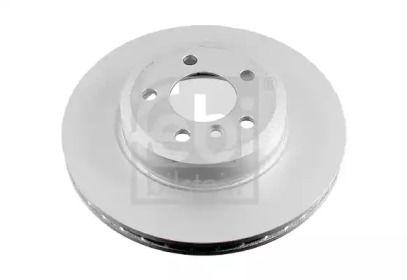 Вентилируемый передний тормозной диск на БМВ Х3 'FEBI 24794'.