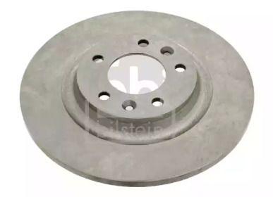 Задний тормозной диск на Пежо РЦЗ 'FEBI 26037'.