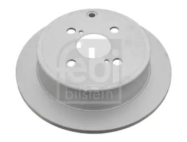 Задний тормозной диск на TOYOTA COROLLA 'FEBI 26066'.