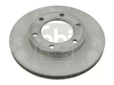 Вентилируемый передний тормозной диск на TOYOTA LAND CRUISER PRADO 'FEBI 26067'.