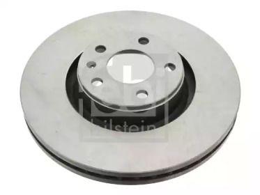 Вентилируемый передний тормозной диск на AUDI A6 ALLROAD 'FEBI 26647'.